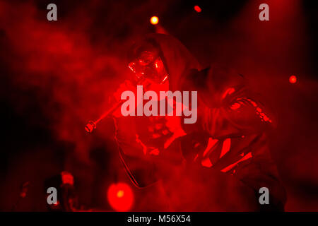 American rap rock band Hollywood Undead - Stock Photo