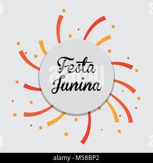 Festa Junina design - Stock Photo