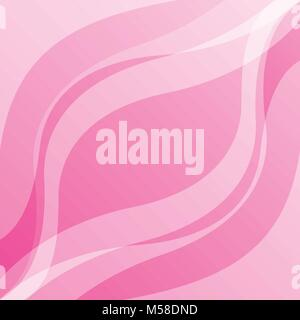 soft pink abstract wave background smooth layout template vector illustration - Stock Photo