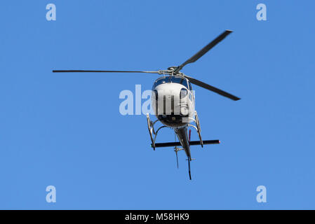 Squirrel helicopter with video camera - Stock Photo