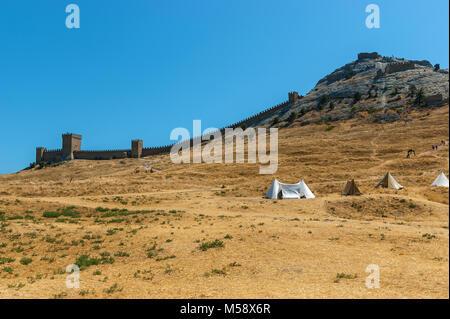 Sudak fortress - Stock Photo