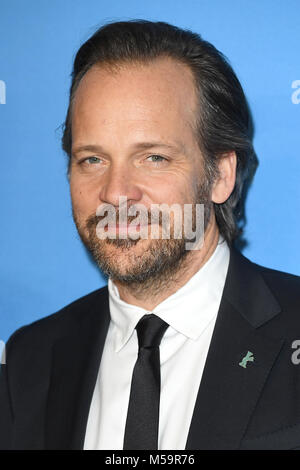 Berlin, Germany. 20th February, 2018. American actor Peter Sarsgaard attends the 68th Berlinale International Film - Stock Photo