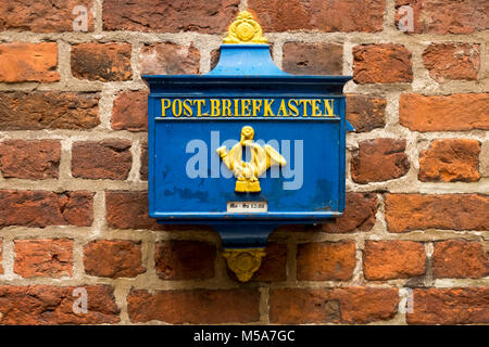 Old German Postbox, Germany - Stock Photo