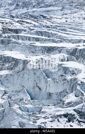 Feegletscher,  Saas Fee,  Wallis,  Schweiz - Stock Photo