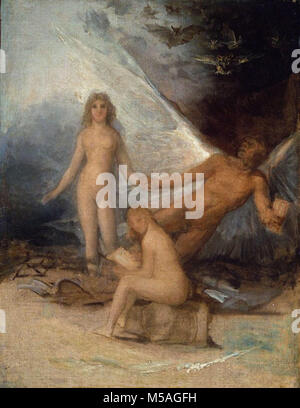 Francisco de Goya y Lucientes -  Time, Truth and History - Stock Photo
