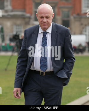 Conservative MP Damian Green in Westminster, London, after he maintained he did not behave inappropriately when - Stock Photo