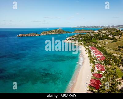 Galley Bay Beach Resort and Spa, Antigua - Stock Photo