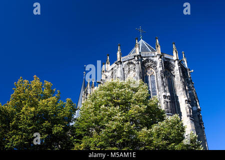 Aachen Cathedral, Aachen or Aix-la-Chapelle, North Rhine-Westphalia, Germany - Stock Photo