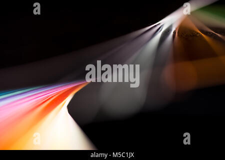 composition of colorful papers - Stock Photo