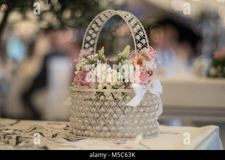 Wedding decorations on the wedding day - Stock Photo