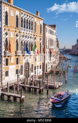 Grand Canal,Venice,Italy - Stock Photo
