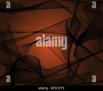 Abstract stylish background with plastic black meshed shapes, creative vector illustration - Stock Photo