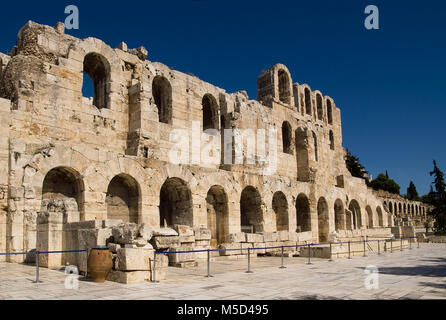 Amphitheater entrance in Athens, Greece - Stock Photo