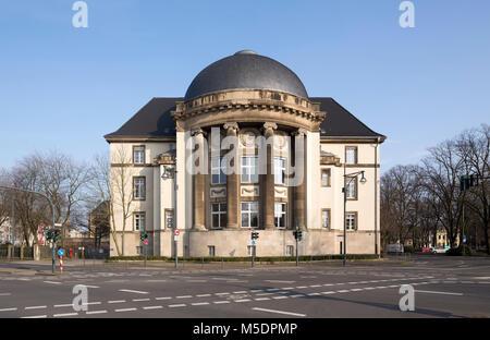Architekt Krefeld krefeld land und amtsgericht neubau 1914 1920 architekt