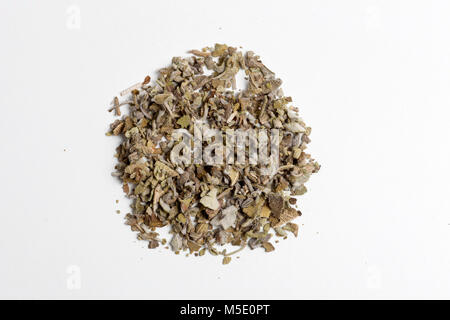 Remedial plant, dryly, plant parts, remedial plants, Schafgarbe, herb, herbs, tea, tea herbs, sage - Stock Photo
