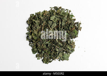 Remedial plant, dryly, plant parts, remedial plants, herb, herbs, tea, tea herbs, peppermints - Stock Photo