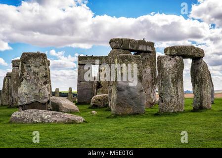 Stonehenge - United Kingdom - Stock Photo