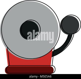fire alarm icon image  - Stock Photo