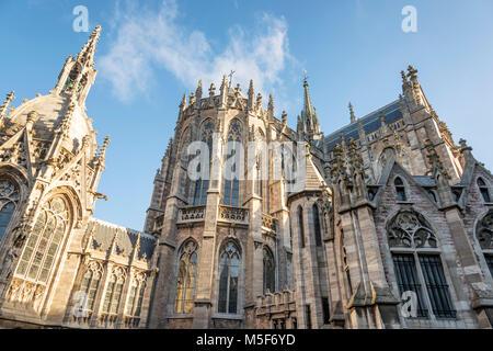 Sint-Petrus-en-Pauusplein (Church of Saint Peter and Saint Paul), Ostend Belgium - Stock Photo