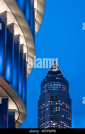 Skyline Plaza, Frankfurt, Hessen, Deutschland, Europa - Stock Photo