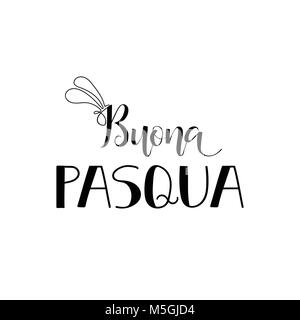 Buona pasqua lettering happy easter colorful lettering in italian easter wooden letter composition buona pasqua lettering translation from italian happy easter quote to design greeting m4hsunfo