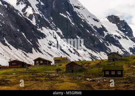 typical landscape of norway - Stock Photo