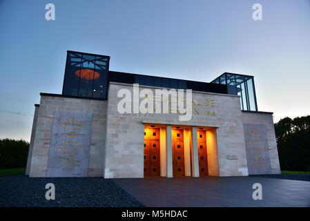 The Verdun Memorial during dusk - Stock Photo