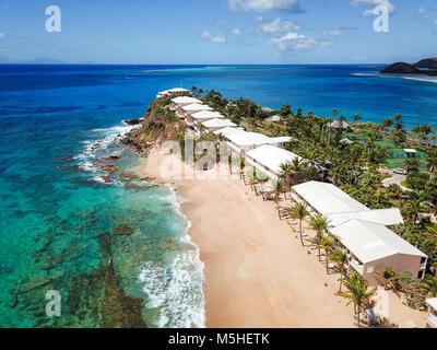 Curtain Bluff Resort, Antigua - Stock Photo