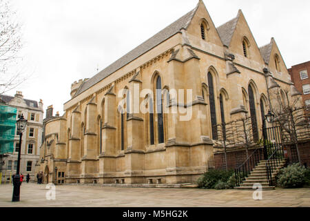 The Temple Church, Middle Temple, City of London, England, UK. Credit: London Snapper - Stock Photo