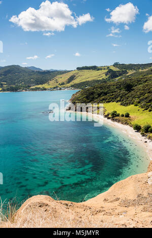 Arai-Te-Uru Peninsula, Near Openoni, North Island, New Zealand - Stock Photo