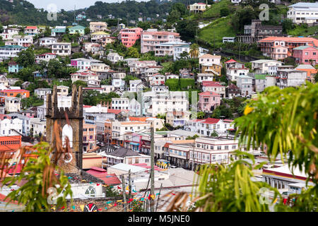 St George, Grenada, Caribbean - Stock Photo