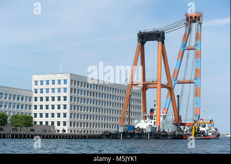Headquaters of A.P. Moller–Maersk Group, Danish business conglomerate in transport, logistics and energy sector, one of the largest container ship ope