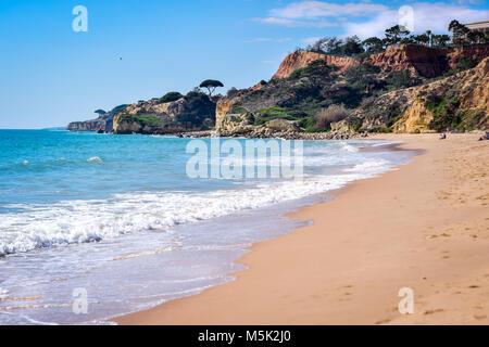 Falesia Beach in Portugal - Stock Photo