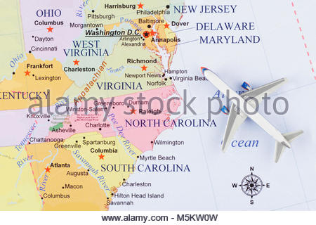 Political map of West Virginia Stock Photo: 34456402 - Alamy