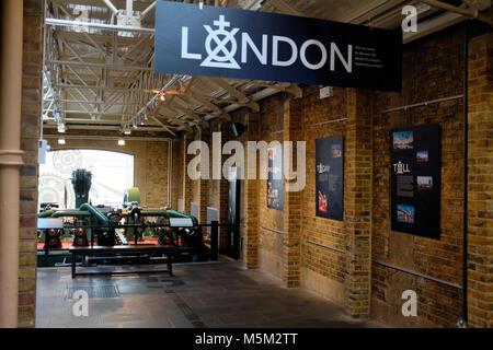 The Engine Rooms, Tower Bridge, London, England, UK - Stock Photo