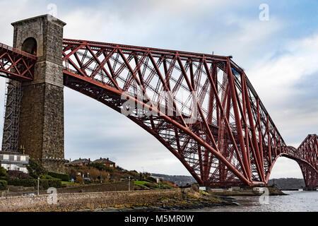 Forth Railway Bridge, Scotland - Stock Photo