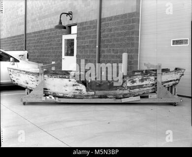 GRCA  Grand Canyon Historical Boat CollectionGem Boat . Catalog # GRCA 32095  Object BOAT  Description  BOAT WITH - Stock Photo