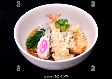 Japanese food style mix tempura and other - Stock Photo