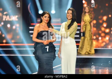 Rust, Germany, 24th February, 2018, 'Miss Germany - The Final 2018' Credit: mediensegel/Alamy Live News - Stock Photo