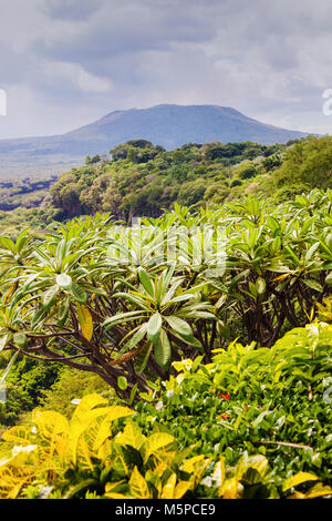 Masaya Volcano National Park in Nicaragua. Managua, Nicaragua. - Stock Photo