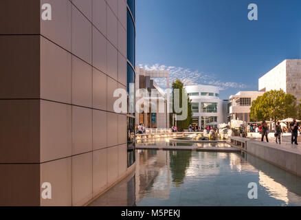 Getty Center , Brentwwod, Los Angeles , CA - Stock Photo