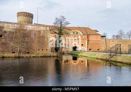 Spandau Citadel, one of the best preserved Renaissance military structures of Europe, now a museum. The part of the bastion Koenig (king bastion)