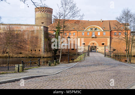 Spandau Citadel, one of the best preserved Renaissance military structures of Europe, now a museum. The Part of the bastion Koenig (king bastion) with