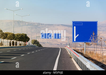 highway signs - Stock Photo