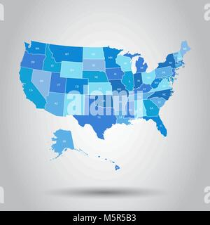 Usa map icon business cartography concept united states of usa map icon business cartography concept united states of america pictogram vector illustration on sciox Choice Image