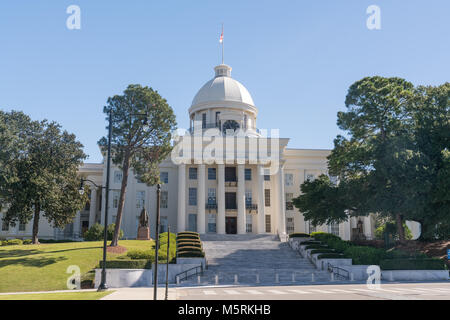 Alabama State Capitol Building in Montgomery, Alabama - Stock Photo