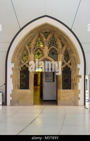 21 February 2018 The beautifully refurbished entrance the Dorian Chapel that is located within the main foyer of - Stock Photo
