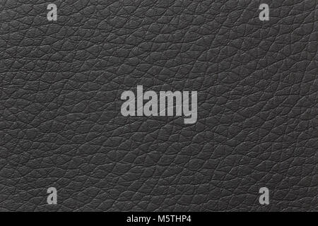 Detail of black leather texture. - Stock Photo