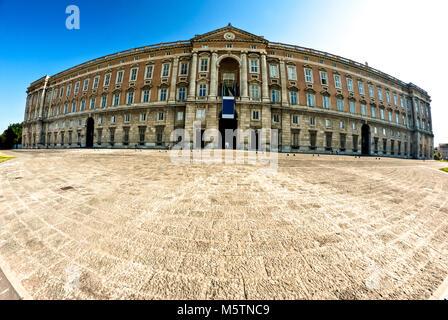 The Royal Palace of Caserta or Reggia di Caserta. Italy - Stock Photo