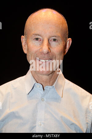 INGEMAR STENMARK former World Cup alpine ski racer from Sweden 2018 Olympic gold medalist and World cup Champion - Stock Photo
